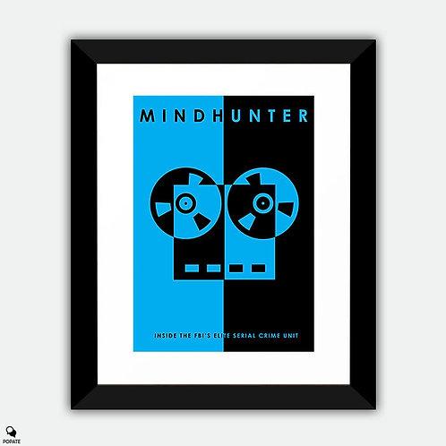 Mindhunter Minimalist Framed Print - Recorder
