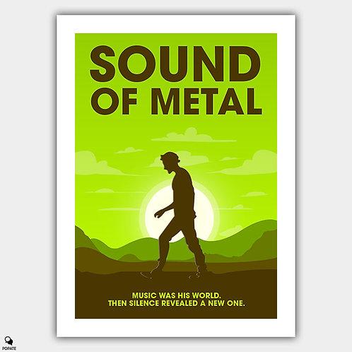 Sound of Metal Minimalist Poster