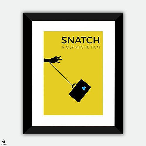 Snatch Minimalist Framed Print
