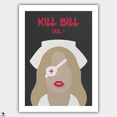 Kill Bill Vol. 1 Minimalist Poster - California Mountain Snake