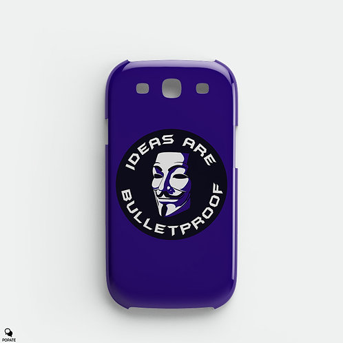 Guy Fawkes Galaxy Phone Case from V for Vendetta