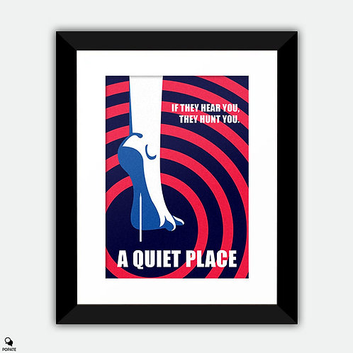 A Quiet Place Alternative Framed Print - Nail