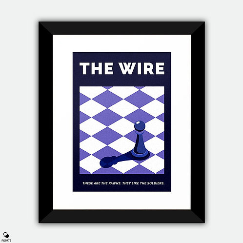 The Wire Alternative Framed Print - The Pawn