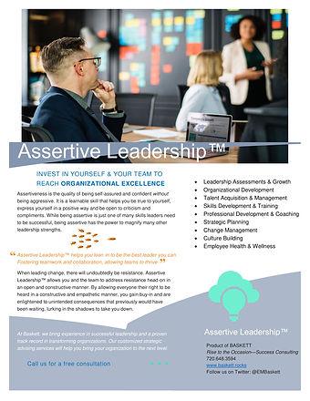 Assertive Leadership