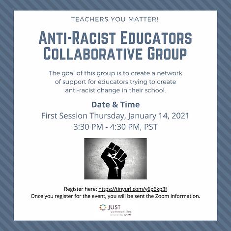 Anti-Racist Educators Collaborative Grou