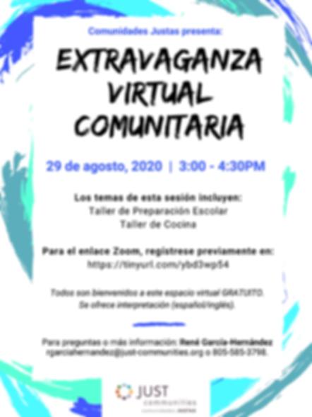 August 2020 Community Virtual Extravagan