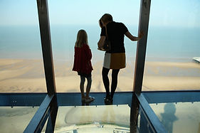 blackpool tower | glass floor