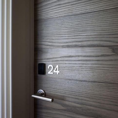 Keycard or bluetooth Entry