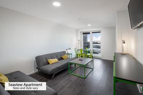Ground floor sea view apartment