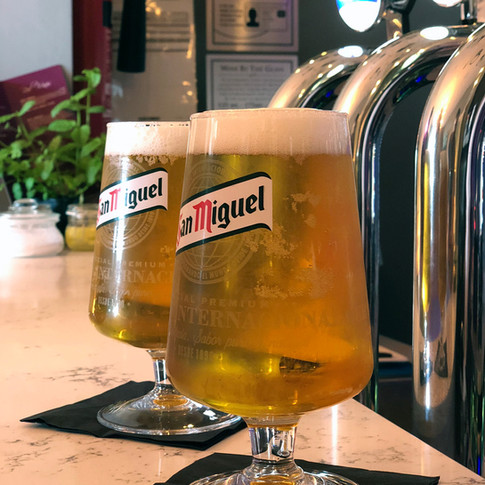 Perfect pour draught