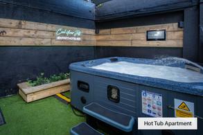 hot tub garden
