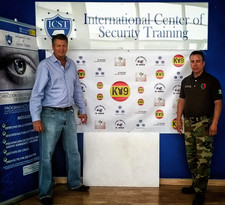 Giving a training course @ Spain