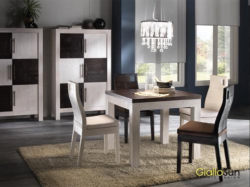 Tavolo Allungabile Giallo : Tavolo allungabile e sedia hotel