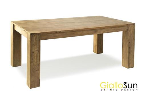 Tavolo Allungabile Giallo : Tavolo legno massello perth