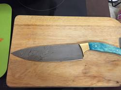 Damascus Cooks Knife