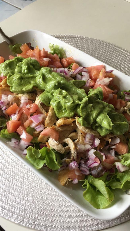 Receta: Chicken Avocado Salad