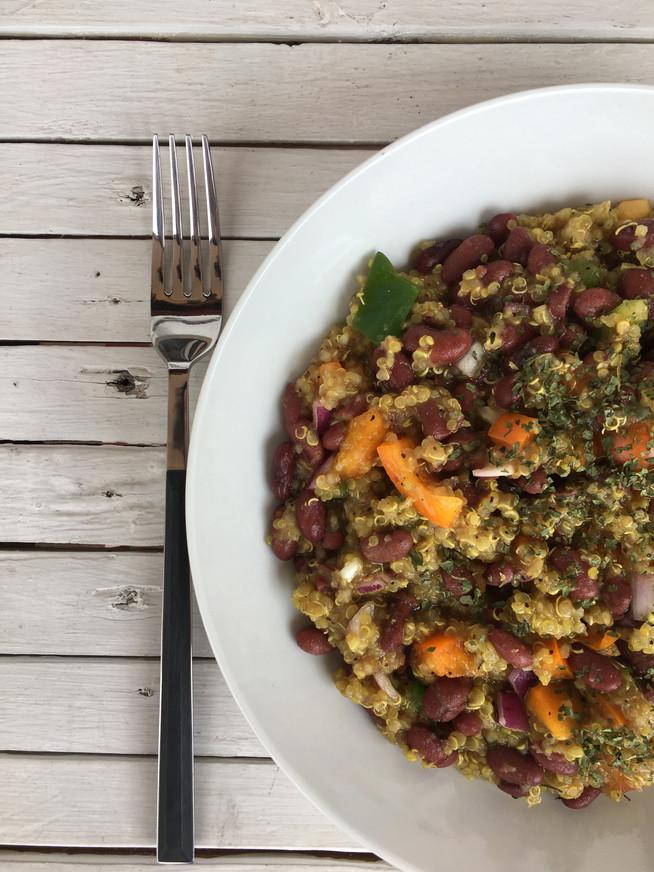 Receta - Ensalada de Quinoa