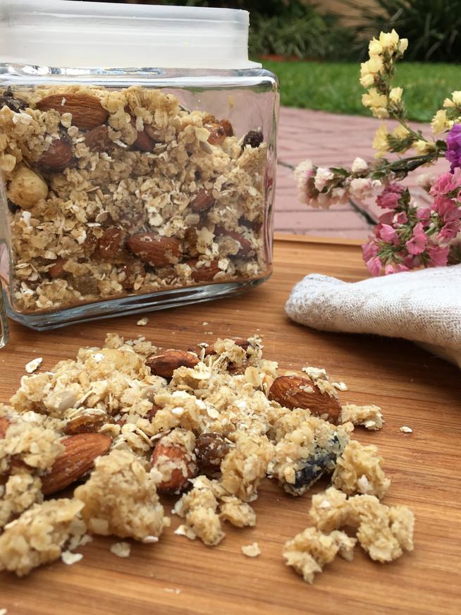 Receta: ¿Cómo hacer granola casera?