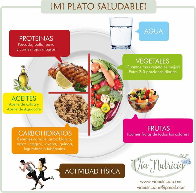 Mi Plato -  ¿Cómo balancear nuestras comidas?