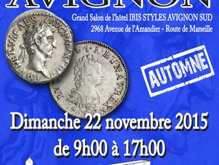 Salon Numismatique d'Automne AVIGNON 2015