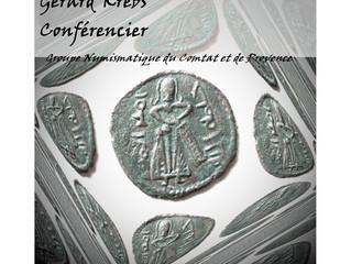 Naissance du Monnayage Islamique, conférence de Gérard Krebs à Avignon