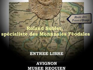 Conférence sur le monnayage des Princes d'Orange...