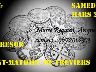 Le Trésor de Saint-Mathieu  de Tréviers CONFERENCE samedi 7 mars 2015