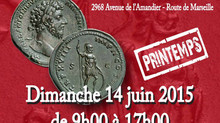 AVIGNON : Le Salon Numismatique de printemps 14 JUIN 2015