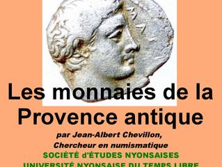 Les monnaies de la Provence antique