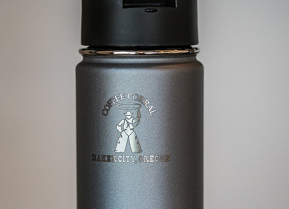 Hydroflask - 12 oz wide mouth with lid