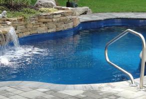 Skimmer swimming pool