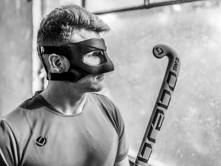 Samuel Ward Uses Raptor Mask After Injury