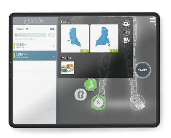 8sole user interface