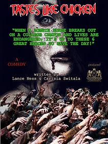 thumbnail_#12 TASTES LIKE CHICKEN Poster