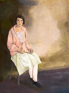 Portrait of Young Tila