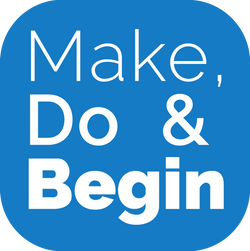 Make Do Begin logo
