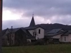 Le beau village de Nages à 5mn du Chat'O