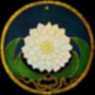 Golen Flower mandala