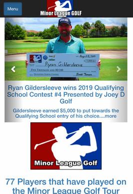 Professional Golf Champion