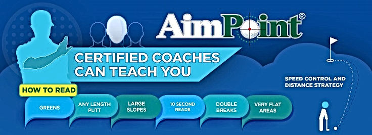 Spencer Golf Academy AimPoint Golf Banner