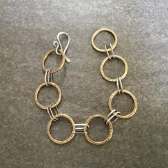 Linked Rings Bracelet
