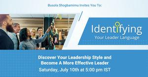 Identifying Your Leader Language