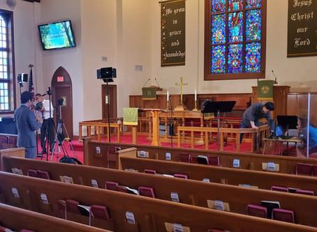 뉴노멀 & 예측불가능 시대 속의                교회예배 준비