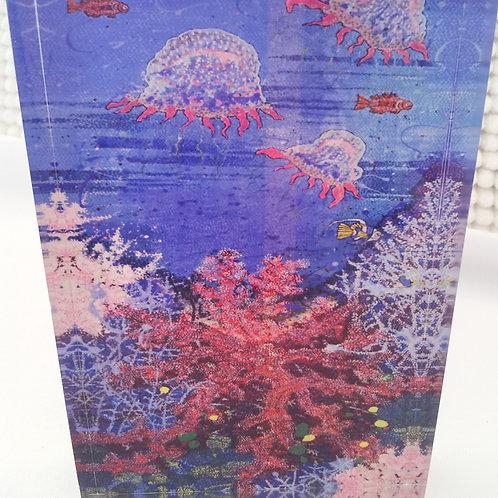 Art Block - Happy Jellyfish (Acrylic)