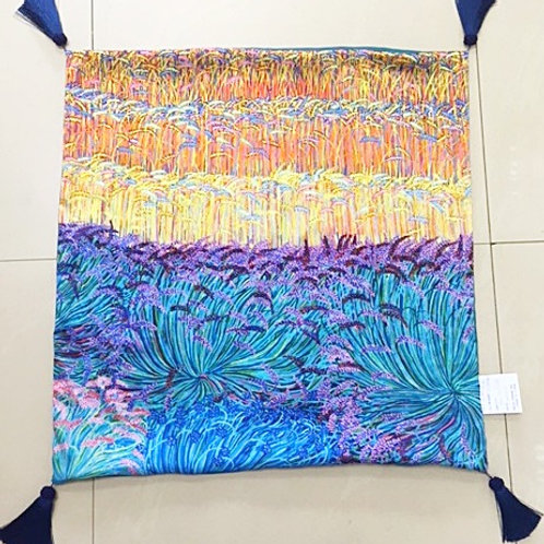 Cushion Lavender and Wheatfield - No Crystals