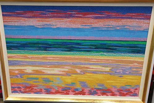 Rainbow Beach - Reproduction Giclee Art Print