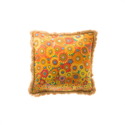 Cushion Sunflower Passion - With Swarovski® 100% Branded Crystals