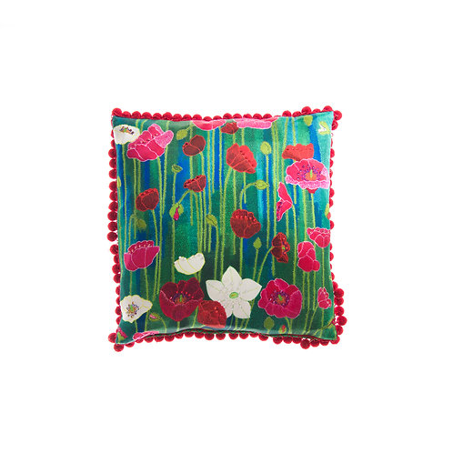 Cushion Garden of Love - With Swarovski® 100% Branded Crystals