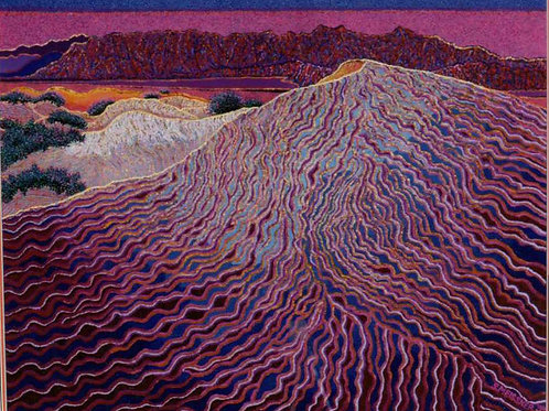 Moving Sands - Reproduction Giclee Art Print On Canvas