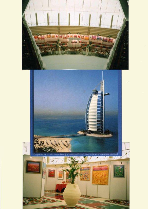 Burj Al Arab Art Exhibition - Dubai
